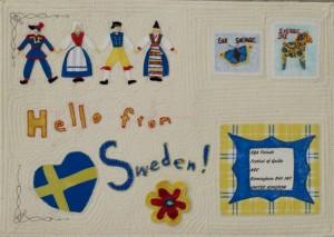 Försättsblad Hallå från Sverige Rae Johansson