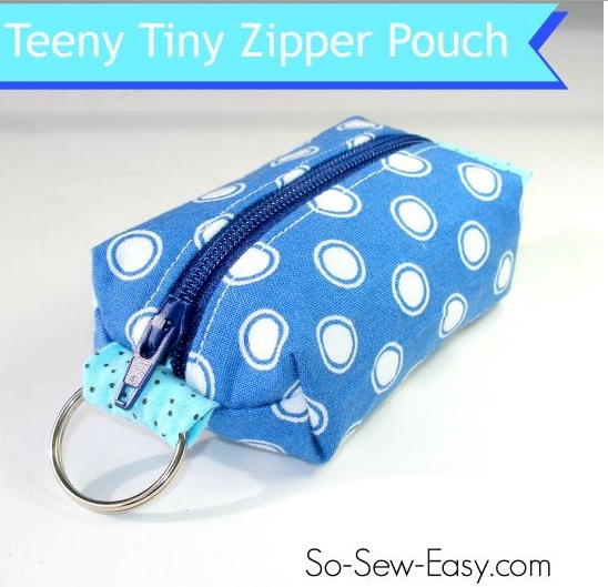 Teeny Tiny Zipper Pouch