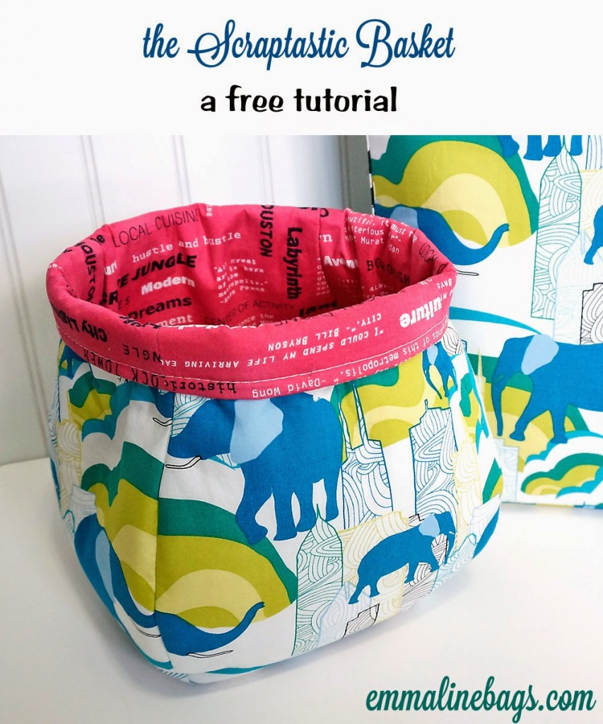 scraptastic basket pattern